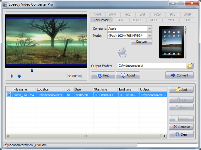 Speedy Video Converter Pro