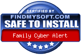 Family cyber alert review